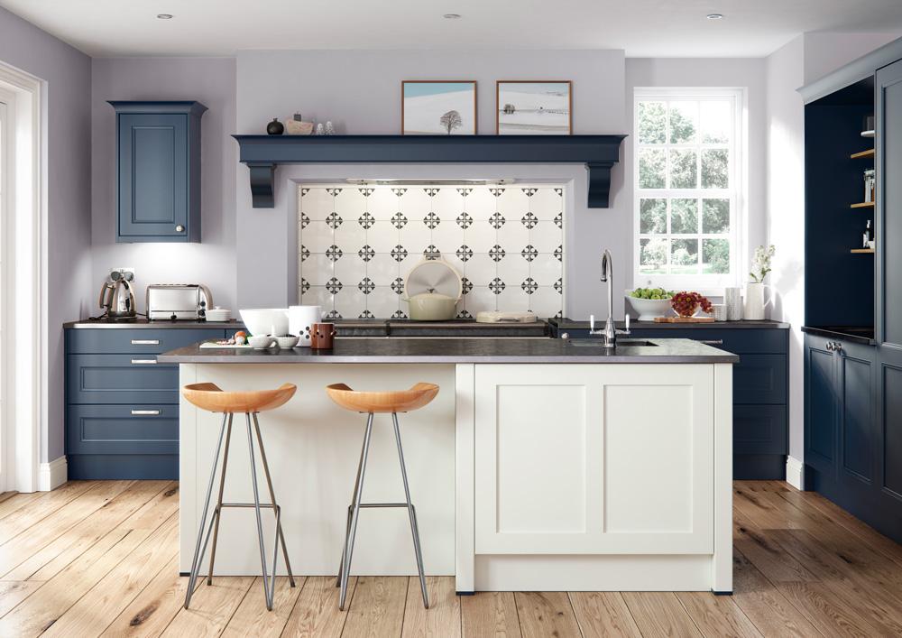 Bespoke kitchen designs classic lines materials for Bespoke kitchen design
