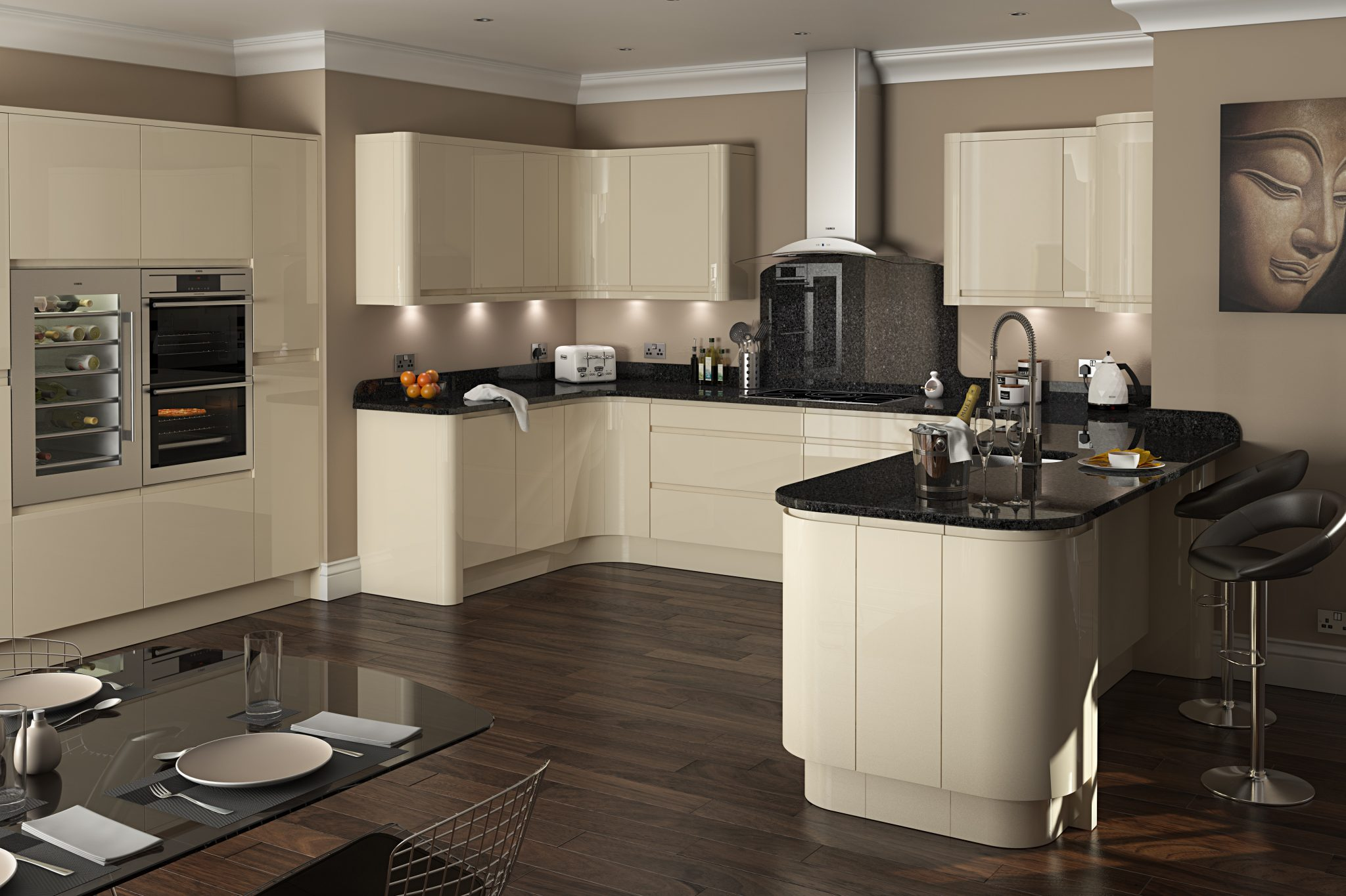 Kitchen design kitchens wirral bespoke luxury designs for Kitchenette designs photos