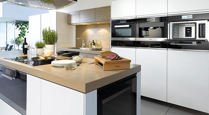Kitchen design ultra modern bespoke kitchen designs for Miele kitchen designs